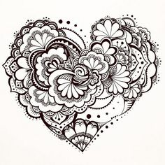 #blackpen #zenart #zentangle #doodleart #doodle #pattern #design #zendoodle #art | Flickr - Photo Sharing!