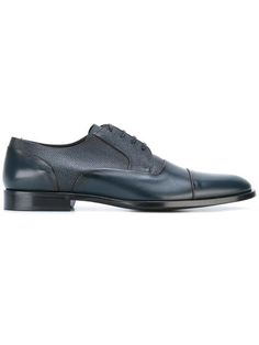 Shop Dolce & Gabbana panelled Oxford shoes. Navy Blue Shoes, Oxford Shoes, Dress Shoes, Footwear, Lace Up, Leather, Men, Shopping, Fashion
