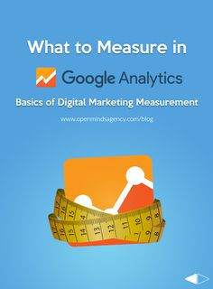 Wondering how to make the best use of Google Analytics? Here is a list of 3 ways to simplify your measurement process and get you started in digital marketing analytics. Read our blog to learn more: [Click on Image] #omagency #analytics #google #digitalmarketing