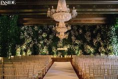 """A stunning ceremony at the St. Regis Hotel in Washington, DC, designed by @SoCoEvents! #InsideWeddings #WeddingCeremony #RealWedding #DreamWedding…"""