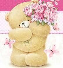 Cute Teddy Bear Pics, Teddy Bear Pictures, Brown Teddy Bear, Birthday Cards, Happy Birthday, Pintura Country, Bear Wallpaper, Tatty Teddy, Love Bear