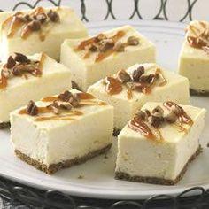 PHILLY Caramel Cheesecake Bars