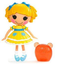 """Mini Lalaloopsy doll  5"""" Curls N. Locks"""