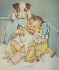 Charlotte Becker Art of Babies - Bing Images