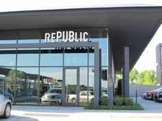RePUBlic Gastropub, OKC. A LOT of beers, and gourmet pub food. We went here for our anniversary, and it quickly became a favorite! I had the Fork & Knife BLT, which was absolutely delicious!