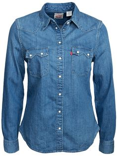 5cfa96a574 Levis - Kvinne - Bluser   Skjorter - På Nett. Vintage ShirtsVintage ...