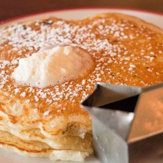 Our pancakes are the fluffiest around! @Founding Farmers / The Farm