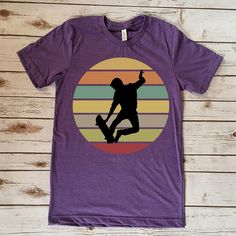 I Love Skateboarding Skateboard Shirts, Skateboard Pictures, Skateboard Art, Skateboarding, Gifts For Family, Shirts For Girls, Retro Vintage, Graphic Tees, Tee Shirts