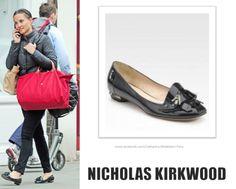 Pippa Middleton. Nicholas Kirkwood patent-leather point-toe flats (£365). Pippa Middleton Style, Carole Middleton, Nicholas Kirkwood, Royal Style, Pointed Toe Flats, Royal Fashion, Patent Leather, Queen, London