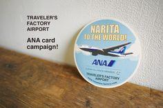 ANA card campaign - TRAVELER'S FACTORY | トラベラーズノートを中心としたステーショナリー・カスタマイズパーツ・オリジナルグッズ・雑貨の販売店
