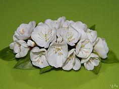 Ramita de flores de cerezo de porcelana fría | Feria Maestros - hecho a mano, hecho a mano