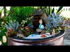 Beach Fairy Garden /