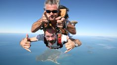 Experience tandem sky diving, only 30 minutes from Brisbane! On your tandem skydive, feel the awesome rush of up to 60 seconds of freefall as you leap out of a plane from up to 14,000ft. Take in stunning views of Brisbane and the coastline before landing on the beach!