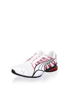 f2440f4c517 Voltaic 3 NM2 Running Shoe (White Teaberry Red Black) Puma Tennis Shoes