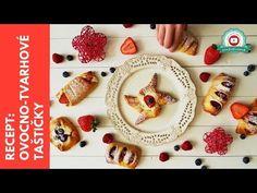 Recept z kvásku: Ovocno tvarohové taštičky - YouTube Waffles, Bread, Breakfast, Youtube, Food, Morning Coffee, Brot, Essen, Waffle