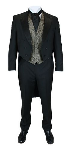 Great site for Edwardian Period clothing! 2 Piece Tailcoat Tuxedo http://www.gentlemansemporium.com/store/004891.php