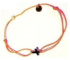 Bracelet fil Croix Or - Senzou - The Gift Shop
