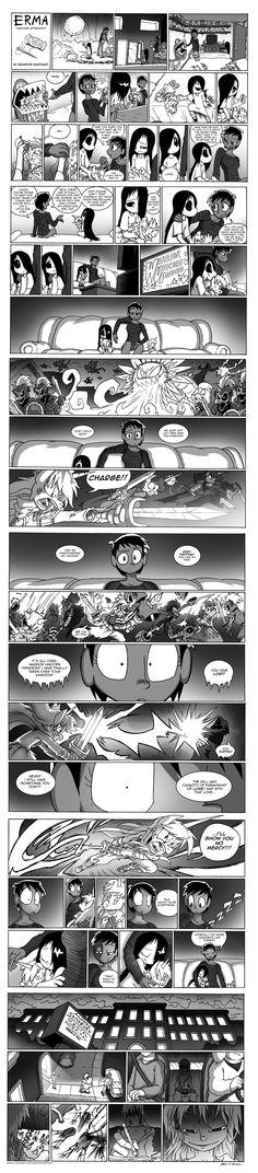 Erma- Unicorn Aftermath by BJSinc on DeviantArt  Woah woah woah what's that ending.