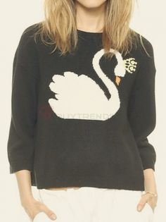 Leisure Pullover Sweater #buytrends #fashion #style  #sweater