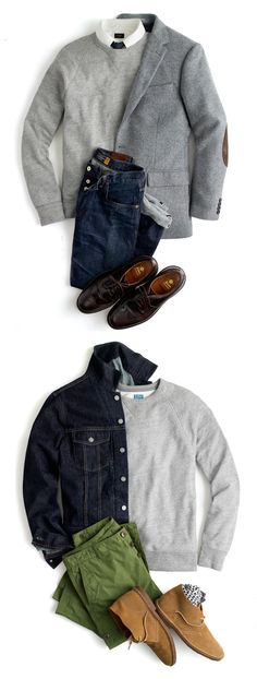 Casual to comfy daywear Mode Masculine, Sharp Dressed Man, Well Dressed Men, Mode Outfits, Fashion Outfits, Look Fashion, Mens Fashion, Estilo Cool, Herren Style