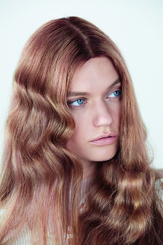 Iconic Gold, by Wella Professionals. A layered cognac gold creates a rich, illuminous warm blonde.