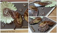 #stampin up #swallowtail #sunflower clear-mount