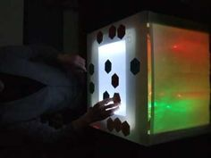 LOOPLEX tangible user interface using Ableton Live, MaxMSP, reacTIVision...