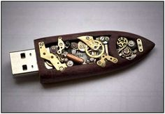 steampunk thumb drive
