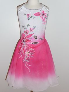 DANCE ICE SKATING DRESS