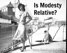 """Is Modesty Relative? """"Modesty isn't about hiding ourselves. It's about revealing our dignity."""" Good read, great video!"""