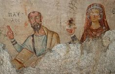 On the walls of a grotto in Ephesus, Turkey, is a mural depicting Paul with his companion Thecla. The way in which the two figures are portrayed indicates that, rather than being a mere disciple of Paul, Thecla shared equal status as a wise teacher.