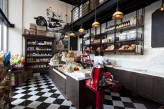 Remos Restaurant by Dakota Design, Johannesburg – South Africa