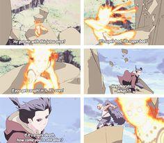 Itachi and Naruto.