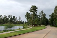 Carlton Woods, a gated community in The Woodlands