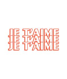 Je Taime T Shirt Graphic Tees is your new tee will be a great gift for him or her. Positive Quotes, Motivational Quotes, Inspirational Quotes, Quotes To Live By, Love Quotes, My Academia, Typography Design, Lettering, French Words
