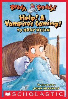 Ready, Freddy! #6: Help! A Vampire's Coming! by Abby Klein, http://www.amazon.com/dp/B005HE2OY4/ref=cm_sw_r_pi_dp_X7q9tb00TEB8M