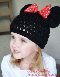 Minnie Mouse crochet