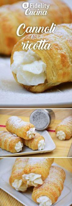 I cannoli di sfoglia con crema di ricotta sono un ottimo dessert, perfetto per chi ha poco tempo ma non vuole rinunciare ad un buon dolce. Ecco la ricetta