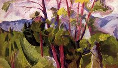 Landscape (mountains) by Italian artist Umberto Boccioni This was executed in Milan. Italian Painters, Italian Artist, Artist Painting, Artist Art, Umberto Boccioni, Italian Futurism, Landscaping Near Me, Abstract Landscape, House Landscape
