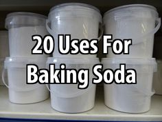 One of the first things you should add to your cache is baking soda. There are lots of uses for baking soda you might not have thought of.