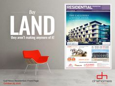 RESIDENTIAL - GULF NEWS | October 25, 2016 | FRONT PAGE  THE GALLERIES AT MEYDAN AVENUE Call: +971 52 3043373 | info@galleriesatmeydan.ae | TOLL FREE: 800 37373 October 25, Galleries, Dubai, News, Hot, Free