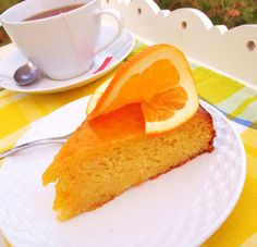 The Alchemist - Orange Olive Oil Cake