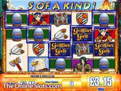 Griffin's Gate Online Slot Machine Free Slot Games, Free Slots, Gate Online, Slot Machine, Baseball Cards, Arcade Machine