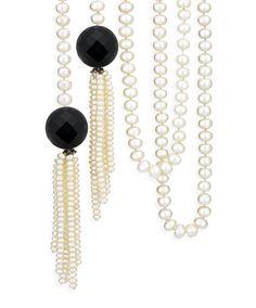 Allegra Lariats #JENNACLIFFORD 1920s Glamour, Lariat Necklace, Jenna Clifford, Sale Items, Turquoise Necklace, Jewelery, Pearls, Stone, Elegant