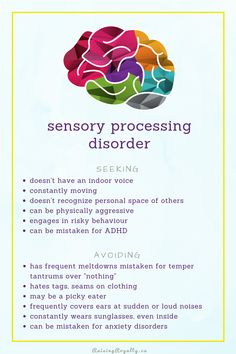 When your child has sensory processing disorder, or just sensory issues, even homeschooling can be challenging. Here are some tools and tips to help. Sensory Processing Disorder Symptoms, Sensory Disorder, Autism Spectrum Disorder Symptoms, Autism Sensory, Autism Activities, Work Activities, Proprioceptive Activities, Auditory Processing Activities, Sorting Activities