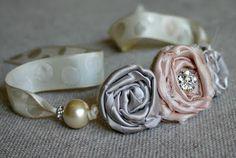 fabric wrist corsage