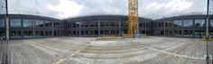Panorama foto bouw 8 oktober