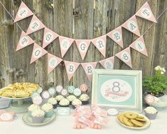 Great to be 8 Girl Party Printable Set LDS by DesignedByMaria, $15.99
