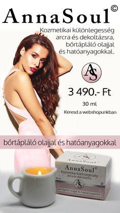 AnnaSoul Kozmetikai különlegesség arcra és dekoltázsra!
