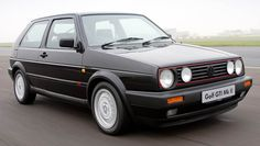 VW Golf mk2 if only it had been a GTi like this one, instead of a cooking 1.2, if only...